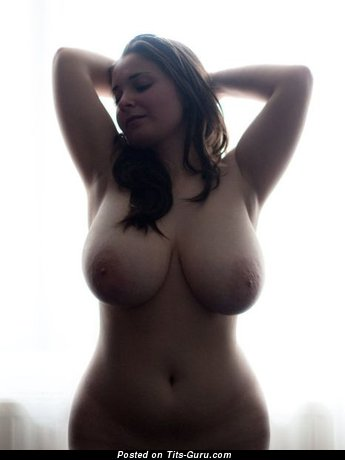 Image. Amazing girl with natural tits image