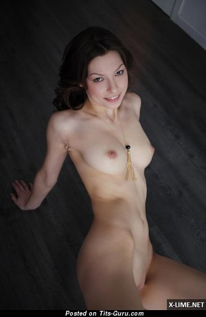 Image. Naked wonderful female with natural tots pic