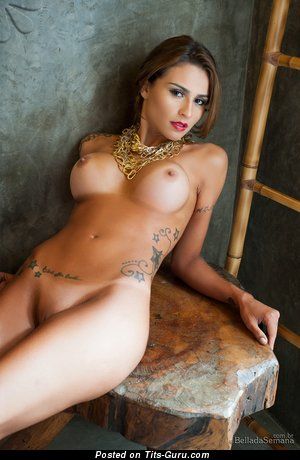 Image. Junia Cabral - nude red hair with big breast picture