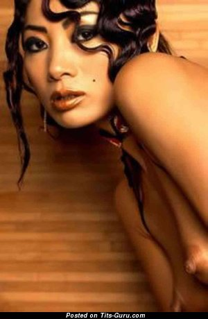 Bai Ling - nude asian with medium natural tots image