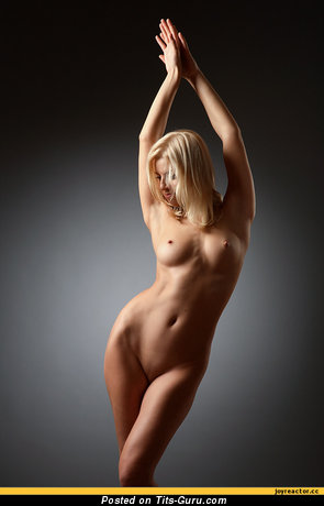 Image. Nude wonderful female with medium breast pic
