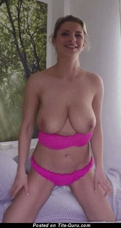 Image. Nice female with big natural tittes gif
