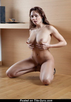 Image. Nude amazing lady with big natural breast picture