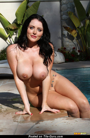Naked hot woman with huge boobs image