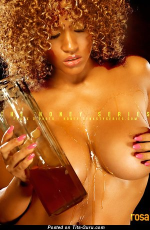 Rosa Acosta - Good-Looking Dominican Brunette with Good-Looking Bare Fake Breasts (Hd Sexual Picture)