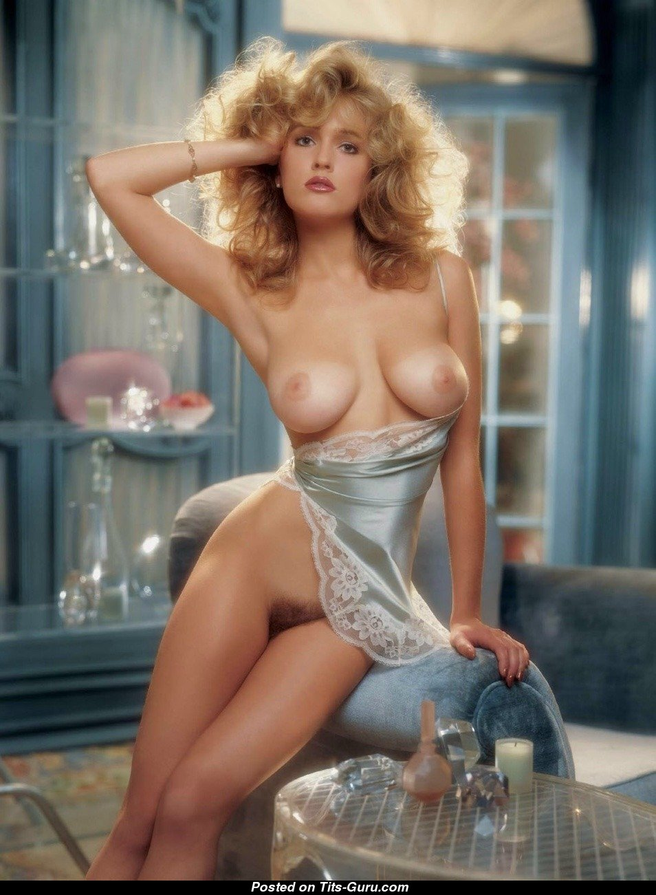 Penny Baker - Playboy Blonde Babe with Exposed Natural ...