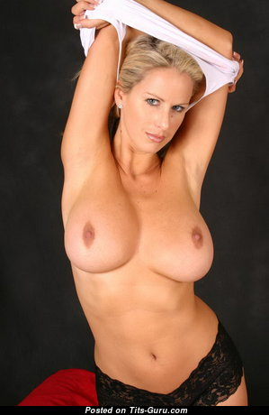 Adele Stephens - Hot British Blonde with Hot Bare Med Knockers (Vintage Hd Xxx Pic)
