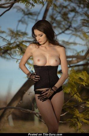 Elegant Miss with Elegant Nude Soft Breasts (Hd Porn Image)