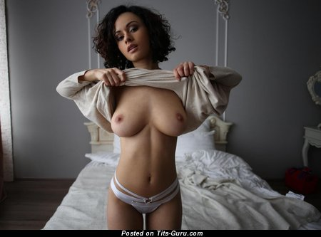 Image. Sexy nude nice woman with big natural boobs image