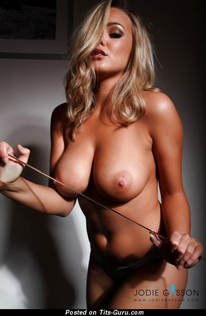Image. Jodie Gasson - nude blonde with medium tits pic