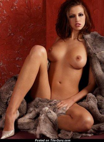 Image. Naked awesome lady with medium tits photo