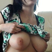 Amateur amazing woman with big natural tittys picture