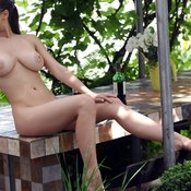 Sofi A - hot female with medium natural breast picture