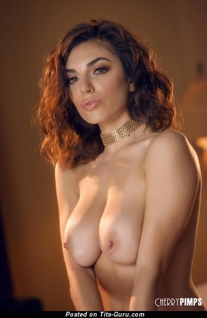 Image. Darcie Dolce - naked latina with medium natural breast pic