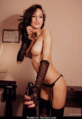 Ирина Бондаренко - Perfect Brunette with Perfect Defenseless C Size Boobie (Hd 18+ Photoshoot)