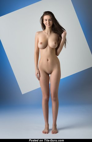 Exquisite Babe with Exquisite Open Real Boobys (Hd Porn Image)