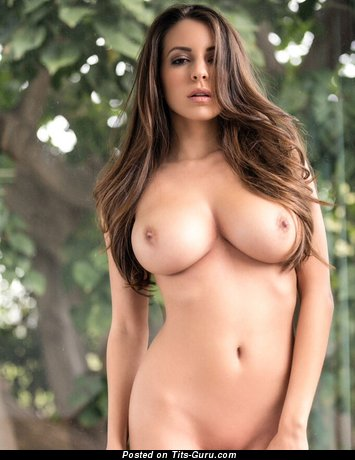 Image. Naked wonderful female with big breast photo