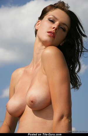 Sexy nude wonderful woman with natural tittes image