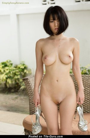 Cina Matsuoka - Yummy Topless Asian Babe with Yummy Bare Med Jugs (Hd Sex Pic)
