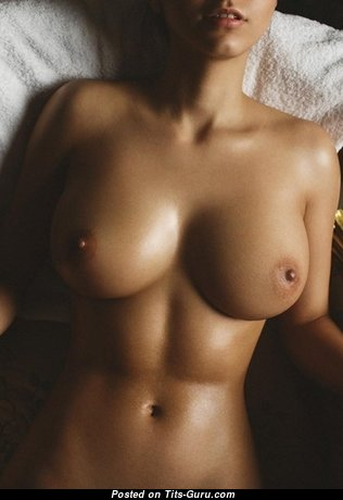 Charming Babe with Charming Exposed Regular Tittys (Sexual Picture)