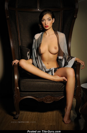 Image. Yana Dimitrova - nude nice girl with natural breast picture