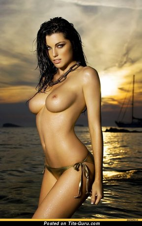 Image. Naked awesome lady with big natural tittes photo