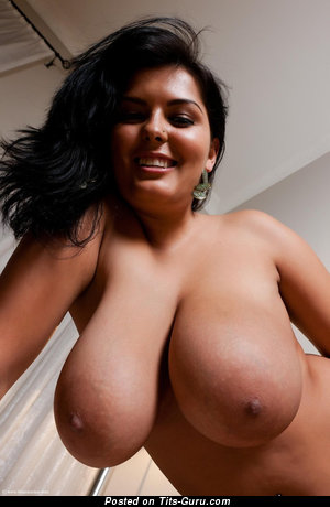 Image. Sexy awesome woman with huge natural tittes picture