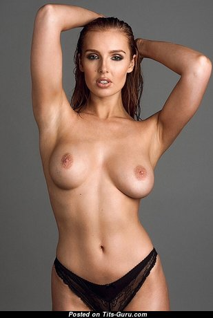 Lissy Cunningham - Pretty British Babe with Pretty Open Real Medium Sized Jugs (Sexual Photo)
