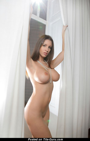 Image. Naked beautiful woman with big fake tits picture