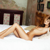 Саншайн - brunette with medium natural breast image