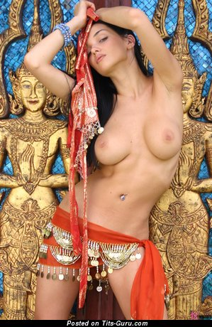Jenya D - naked awesome woman with big natural tittes image