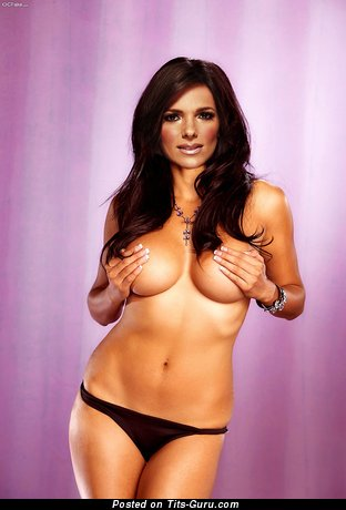 Barbara Bermudo - Adorable Puerto Rican Brunette with Adorable Bare Real Firm Breasts (Hd Xxx Picture)