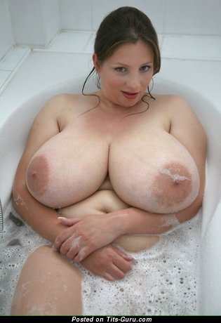 Nadine Jansen - Perfect German Brunette Pornstar with Perfect Nude Real Massive Melons (Sex Pix)