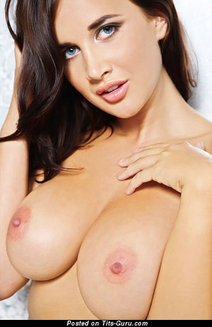 Image. Danni Brooks - naked awesome female with big natural breast image