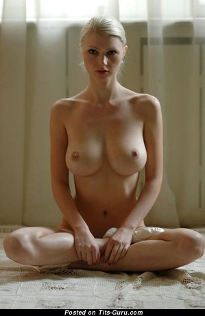 Image. Naked wonderful woman with big natural breast picture