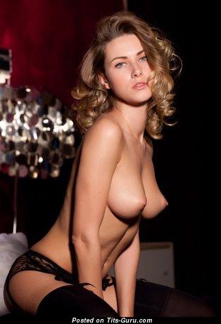 Image. Amazing girl with medium natural tittys photo