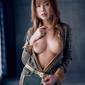 Ami Ayukawa - awesome girl with medium natural tittes picture