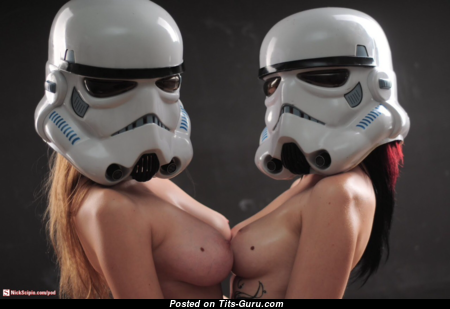 Star Wars - Amazing Wet Naked Playboy Lassie with Pointy Nipples (Hd Xxx Picture)