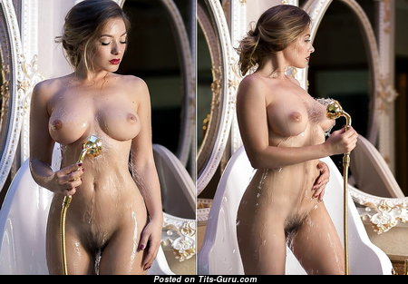 Appealing Babe with Appealing Nude D Size Titty (Xxx Picture)