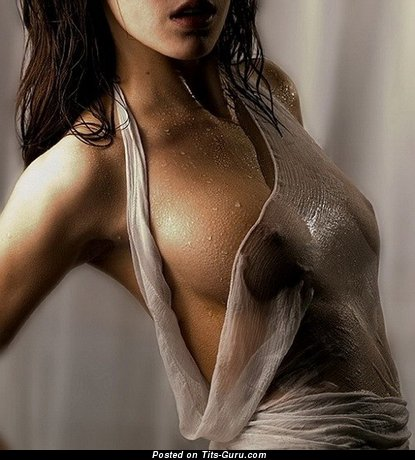Image. Naked awesome lady with medium natural tits photo