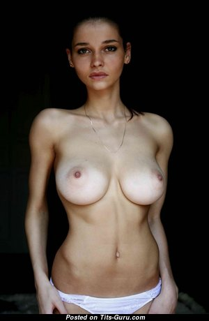 The Nicest Babe with Fine Nude Natural D Size Jugs (Hd 18+ Picture)