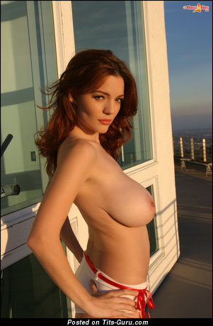Danielle Riley - naked beautiful lady with big natural tots picture