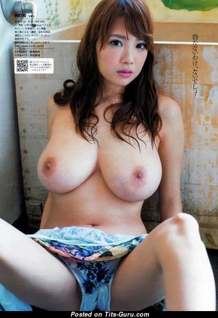 Rion Nishikawa - Good-Looking Topless Asian Red Hair Pornstar & Babe with Good-Looking Open Natural Soft Titty (Porn Pix)