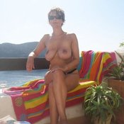 Wonderful woman with big natural tittes image