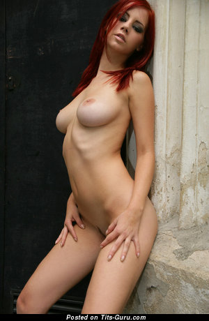 Ariel Piper Fawn - naked red hair with big natural tittes photo
