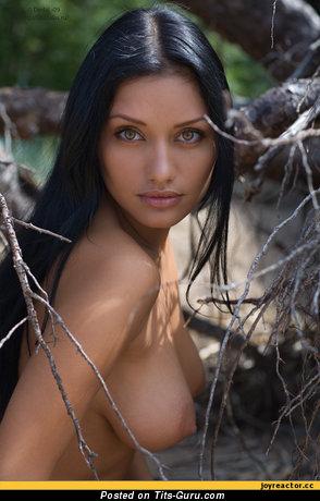 Image. Awesome girl with medium boob photo