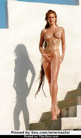 Image. Nude wonderful girl with medium tittes image
