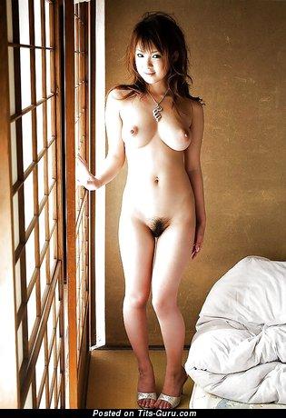 Beach erection man naked woman