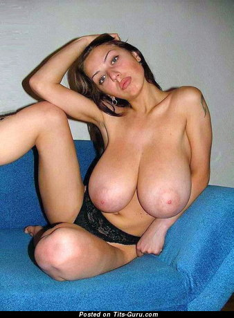Image. Nude wonderful woman with huge breast photo