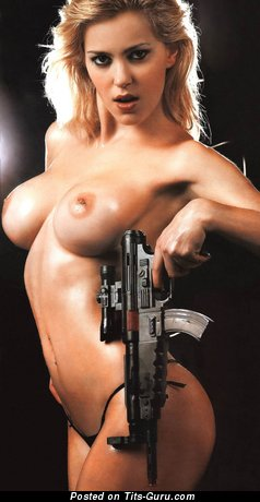 Image. Mariana Diarco - naked blonde with big breast picture